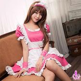 櫻桃紅四件式甜美女僕角色扮演服 性感情趣內睡衣 《SV8328》快樂生活網