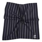 renoma簡約直紋男士純綿帕巾(深藍色)989063-239