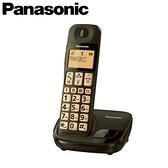 Panasonic 國際牌 KX-TGE110TWB 大按鍵大螢幕數位無線電話