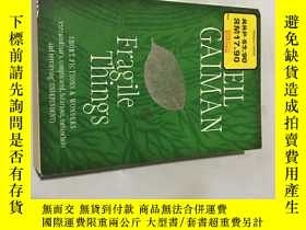 二手書博民逛書店neil罕見gaiman fragile thingsY2085