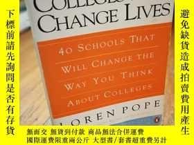 二手書博民逛書店Colleges罕見That Change Lives: 40