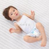 嬰兒肚兜 薄款竹纖維棉0-3-6個月寶寶護肚圍嬰幼兒護肚衣連腿肚兜 珍妮寶貝