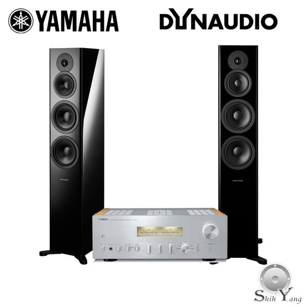 YAMAHA 山葉 A-S2100 +Dynaudio Evoke 50 書架音響組合【公司貨+免運】