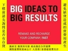 二手書博民逛書店Big罕見Ideas To Big Results: Remake And Recharge Your Compa