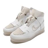 Nike 休閒鞋 Wmns Vandalised 白 米白 女鞋 解構 斷勾勾 皮革 【ACS】 CI7594-100