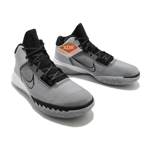 【六折特賣】Nike 籃球鞋 Kyrie Flytrap IV EP 4 灰 黑 高筒 男鞋 厄文 【ACS】 CT1973-002
