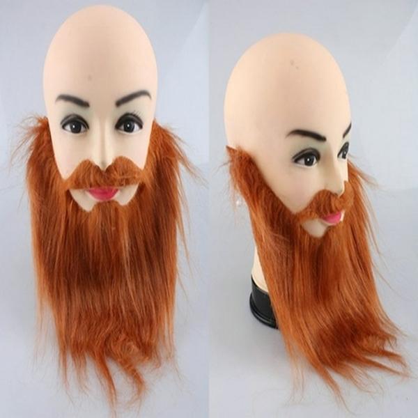【塔克】表演 假鬍子 棕色 黑色 絡腮鬍假鬍子 萬聖節/派對/服裝/角色扮演/變裝/搞笑裝扮