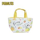 【日本正版】史努比 皮革 保冷袋 手提袋 便當袋 Snoopy PEANUTS - 926680
