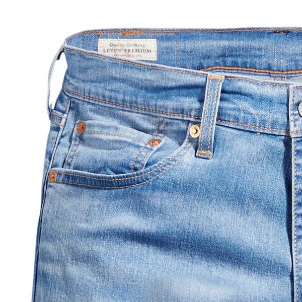 Levis 男款 511低腰修身窄管牛仔褲 / Cool Jeans 輕彈有型 / 淺藍刷白