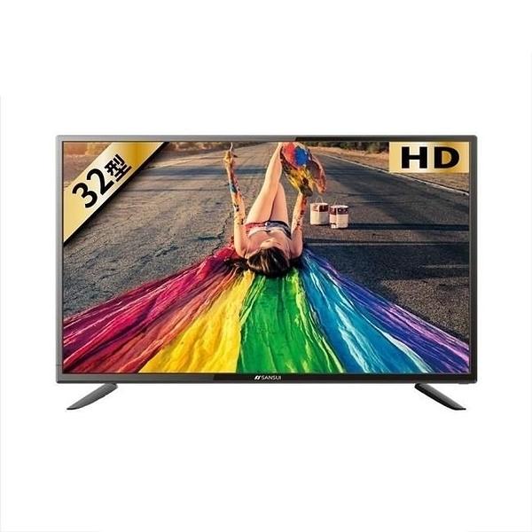 【南紡購物中心】SANSUI山水【SLED-3233】32吋LED多媒體液晶顯示器電視