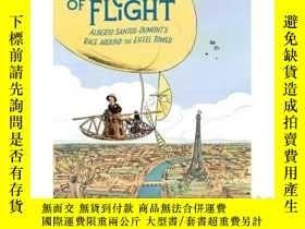 二手書博民逛書店A罕見Dream of Flight: Alberto Sant