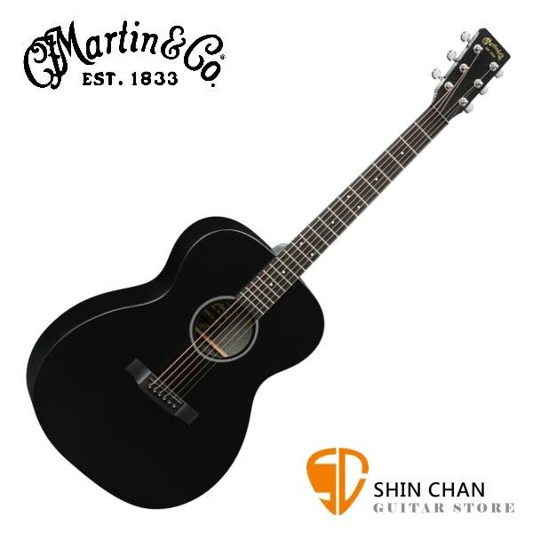 Martin OMXAE BLACK 41吋可插電民謠吉他 桶身: OM桶【OMXAE-BLACK/電木吉他/台灣總代理/公司貨】