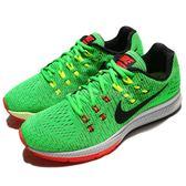 【五折特賣】Nike 慢跑鞋 Air Zoom Structure 19 綠 黑 隱藏式氣墊 運動鞋 男鞋【PUMP306】 806580-300