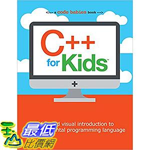 [106美國直購] 2017美國暢銷兒童書 C++ for Kids (Code Babies) Board book