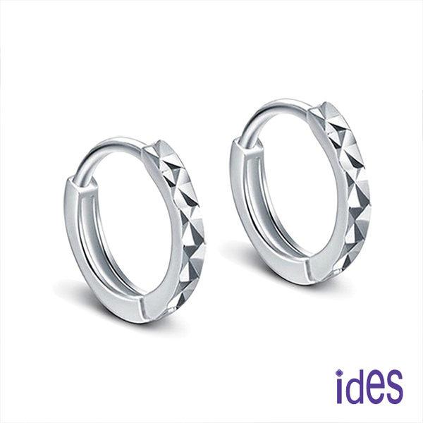 日韓風潮個性時尚925純銀耳環