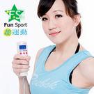 《Fun Sport》手持式手電筒計步器(5合1)珍珠白色(台製外銷日本)