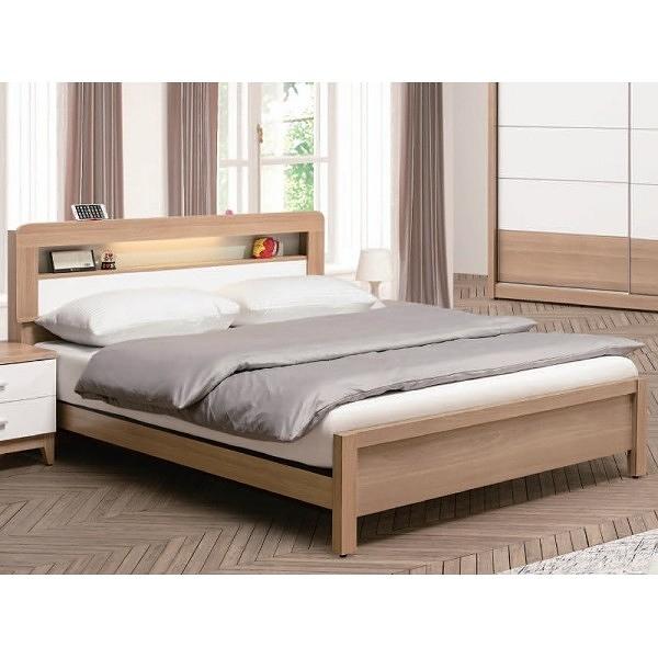 床架 床台 QW-133-3 金詩涵5.4尺功能型床台 (不含床墊) 【大眾家居舘】