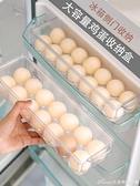 家用雞蛋盒冰箱側門收納盒廚房放雞蛋的盒子蛋格蛋架蛋盒雞蛋架托 交換禮物 YYS