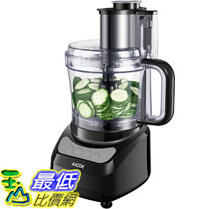[107美國直購] 切菜機食物調理機 Aicok 12-Cup Food Processor with Wide Mouth, Meat Processor with Two Chopping Blades
