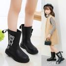 兒童靴女童靴子韓版加絨高筒靴2020新款小女孩公主長筒靴寶寶 【快速出貨】