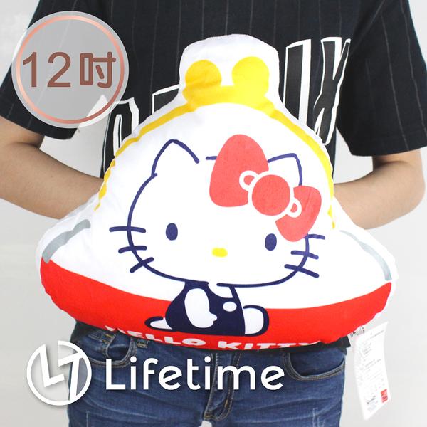 ﹝Kitty45週年錢包娃娃12吋﹞正版絨毛娃娃 抱枕 零錢包 凱蒂貓 30cm〖LifeTime一生流行館〗B16356