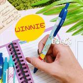 韓國製造 正版授權 迪士尼系列 小熊維尼 小豬 自動筆 自動鉛筆 0.5mm COCOS ZZ060