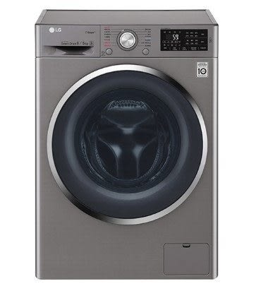 LG 9公斤 6 Motion DD直驅變頻 蒸氣滾筒洗脫烘衣機 WD-S90TCS ( 精緻銀 )