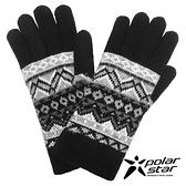 PolarStar 女 觸控保暖手套『黑』台灣製造│保暖手套│絨毛手套│觸控手套│刷毛手套 P19604