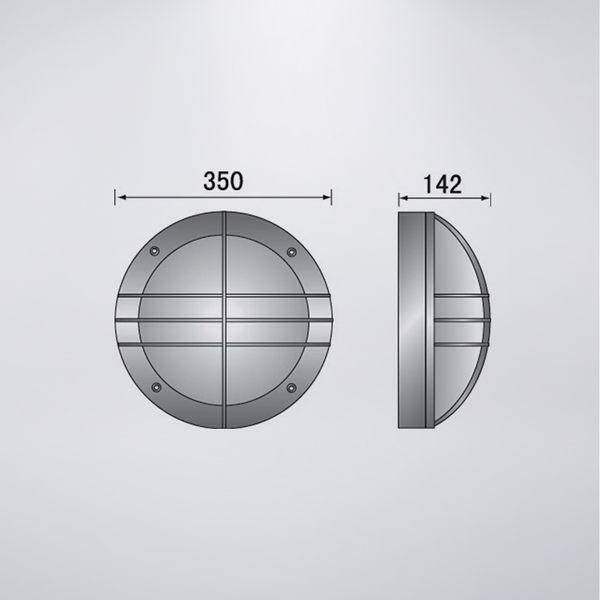 戶外壁燈 雙燈 防水型 可搭配LED