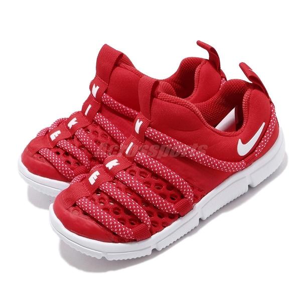 Nike 毛毛蟲鞋 Novice BR TD 紅 白 童鞋 小童鞋 運動鞋【ACS】 BQ6721-601