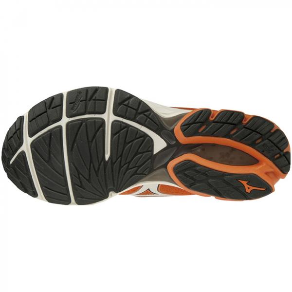 MIZUNO WAVE RIDER 23 [J1GC190453] 男鞋 運動 慢跑 馬拉松 休閒 輕量 避震 寬楦 橘