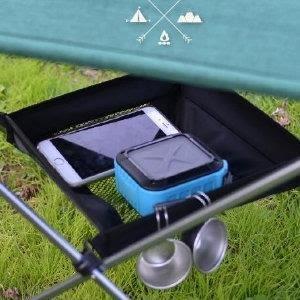 ♥巨安網購♥【GT107041828】折疊桌收納掛網置物掛架野營掛袋 (大號)