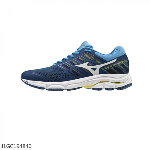 MIZUNO WAVE EQUATE 3 [J1GC194840] 男鞋 慢跑 運動 休閒 輕量 透氣 舒適 緩衝 藍