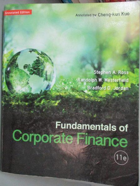 【書寶二手書T6/大學法學_HMU】Fundamentals of Corporate Finance11/e_Step