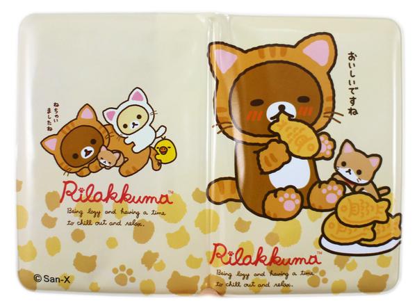 【卡漫城】 拉拉熊 護照套 文具 A款 ㊣版 台灣製 證件套 卡片 收納 Rilakkuma 懶懶熊 相機
