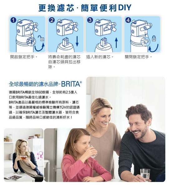 德國 BRITA Plus P3000櫥下硬水軟化長效型淨水器濾心 (適用Brita P1000)