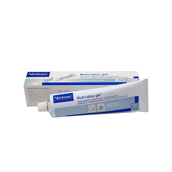 *KING WANG*法國維克Virbac-Nutri Plus Gel®克補軟膏-犬貓專用高能量營養補給品 120.5g