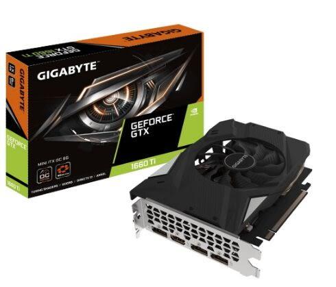 技嘉 GeForce GTX 1660 Ti MINI ITX OC 6G (GV-N166TIXOC-6GD)【刷卡分期價】