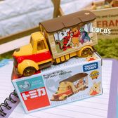 正版授權 夢幻小熊維尼電影宣傳車 多美小汽車 小車 COCOS TO325