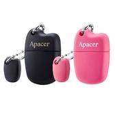 【神腦生活】Apacer AH118 USB 2.0 64GB 隨身碟 黑/粉