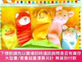 二手書博民逛書店Old罕見Macdonald: A Hand-Puppet Board Book (Little Scholast