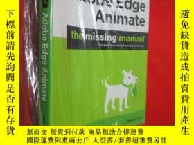 二手書博民逛書店Adobe罕見Edge Animate: The Missing