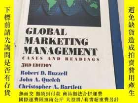 二手書博民逛書店Global罕見Marketing Management: Ca