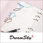 創意 卡通 造型 迴紋針 書籤 書夾 隔頁夾 文具 可愛 皇冠 星星 巴黎鐵塔 綿羊 禮品 DreamSky