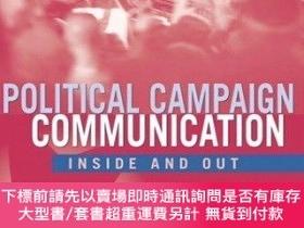 二手書博民逛書店Political罕見Campaign Communication: Inside and Out-政治競選傳播: