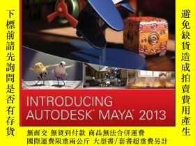 二手書博民逛書店Introducing罕見Autodesk Maya 2013Y410016 Dariush Derakhsh