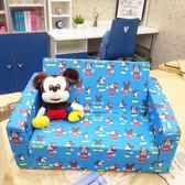 [首雅傢俬]買一送一 迪士尼 小 沙發床  兒童椅 兒童沙發 兒童家具 兒童床 多功能 沙發 (藍 粉紅)