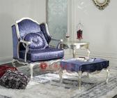 [紅蘋果傢俱] XGL-084 歌德系列 新古典 歐式 法式 休閒椅 沙發椅 單人位 裝飾椅 工廠直營