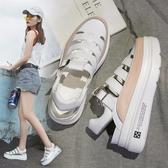涼鞋夏季新款羅馬鞋女運動涼鞋包頭鏤空鞋百搭厚底鬆糕鞋ins潮鞋 有緣生活館