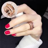 日韓潮人百搭歐美韓版時尚誇張女戒指PLL4288【男人與流行】